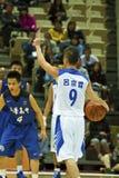 高中篮球比赛, HBL 免版税库存照片
