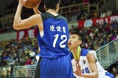 高中篮球比赛, HBL 图库摄影
