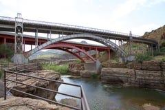 高亚利桑那桥梁 图库摄影