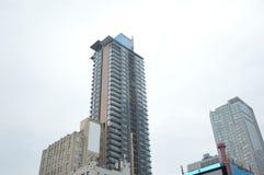 高企业摩天大楼在多伦多的心脏 图库摄影