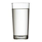 高充分的杯水w裁减路线 库存图片