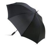 高分辨率和细节黑伞 免版税库存图片