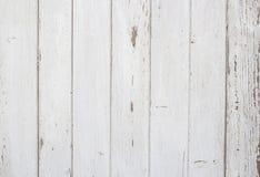 高分辨率白色木背景 免版税库存照片