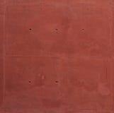 高分辨率水泥红色墙壁 库存图片