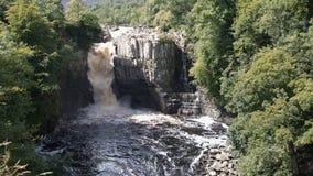 高力量瀑布 库存图片