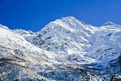 高加索主要山土坎俄国 库存图片