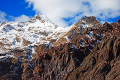 高加索山14 库存照片