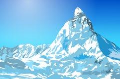 高加索佐治亚gudauri山冬天 图库摄影