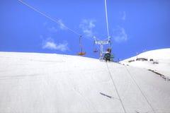 高加索 大横向山山 免版税图库摄影
