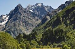 高加索山脉 免版税库存图片