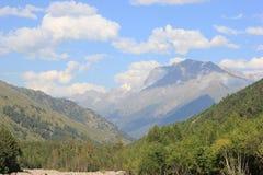 高加索山脉 图库摄影