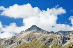 高加索的山脉 库存图片