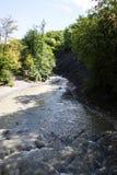 高加索的瀑布 库存图片