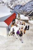 高加索 高地咖啡馆 免版税库存图片