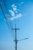 高压电 免版税库存照片