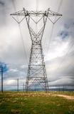 高压输电线 免版税库存图片