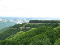 高原在克里米亚 图库摄影