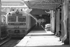 高哈蒂火车站 免版税库存照片