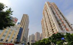 高商业和居民住房 库存图片