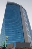 高商业大厦在Deira 免版税库存图片