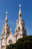 高圣皮特圣徒・彼得和圣保罗塔大教堂的上升 库存照片