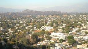 高地公园都市风景的鸟瞰图  影视素材