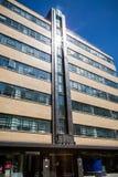 高地山羊大厦在Minories,伦敦 免版税库存照片