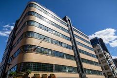 高地山羊大厦在Minories,伦敦 库存图片