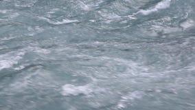 高地河的水表面,自然本底,Kucherla河,阿尔泰山 股票录像
