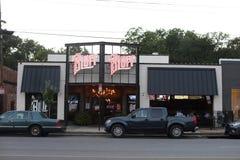 高地高度的孟菲斯, TN虚张声势餐馆 库存照片