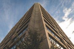高城市大厦的角落 免版税图库摄影