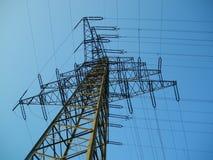 高塔电压 库存照片
