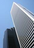 高大厦的城市 免版税库存照片