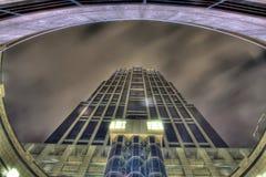 高大厦的hdr 库存照片