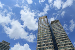 高大厦 库存图片