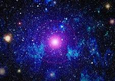 高定义星际背景 满天星斗的外层空间背景纹理 五颜六色的繁星之夜天空外层空间背景 库存照片