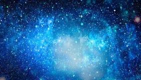 高定义星际背景 满天星斗的外层空间背景纹理 五颜六色的繁星之夜天空外层空间背景 库存图片