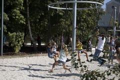 高尔基文化和休闲中央公园  图库摄影