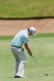 高尔夫球专业布兰登雍容摇摆 免版税图库摄影