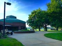 高尔夫球中心 库存照片