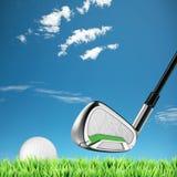 高尔夫球主题 免版税库存照片