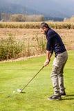 高尔夫球人使用 免版税图库摄影