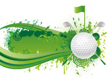 高尔夫球体育运动 免版税库存照片