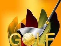 高尔夫球体育运动 库存例证