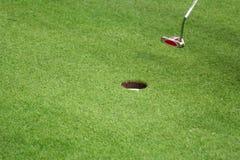 高尔夫球体育运动 图库摄影