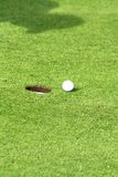 高尔夫球体育运动 免版税图库摄影