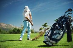 高尔夫球假期 免版税库存照片