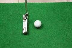 高尔夫球办公室 免版税库存照片
