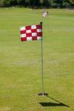 高尔夫球区 库存照片