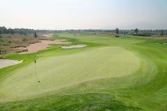 高尔夫球区 库存图片